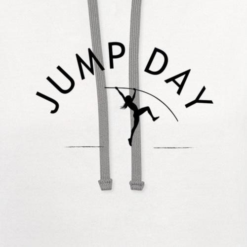 Women's Polevault | Jump Day - Unisex Contrast Hoodie