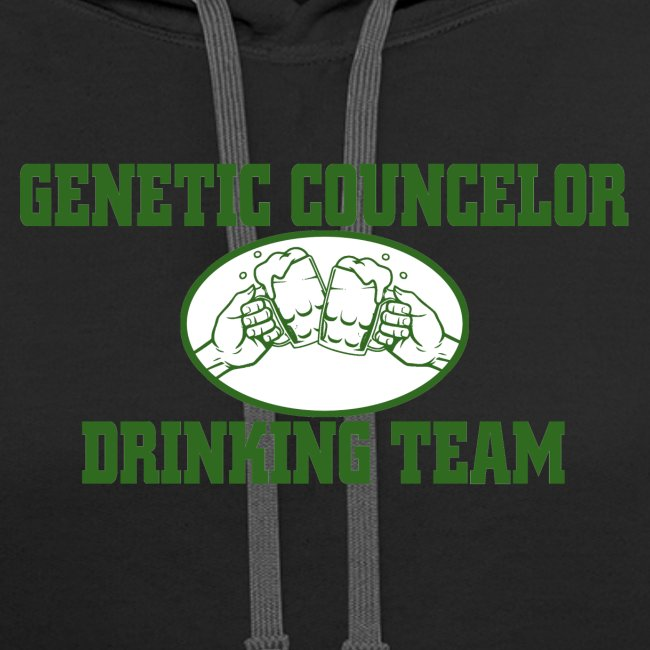 genetic counselor drinking team