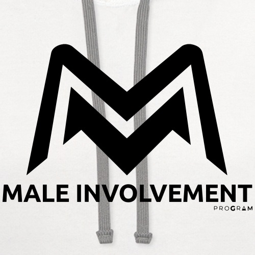 maleinvolvement - Contrast Hoodie