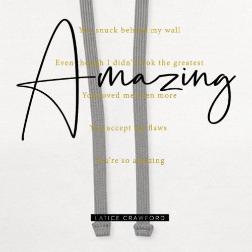 AMAZING (Black Text)