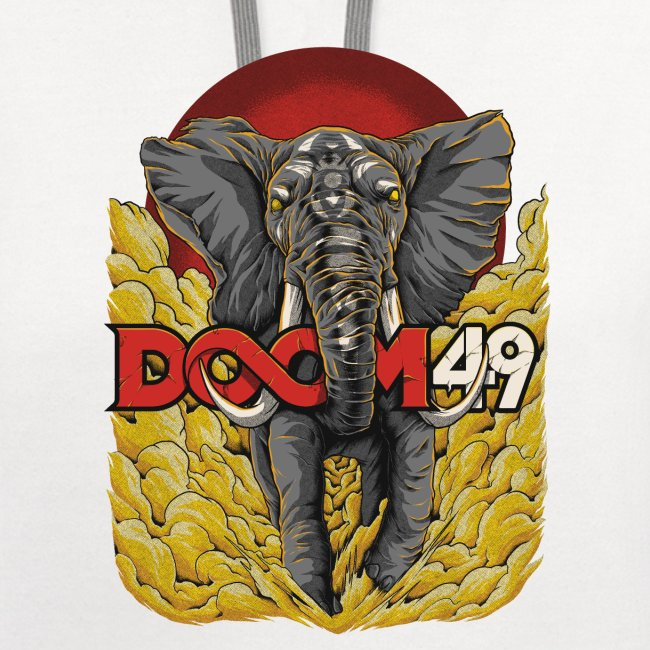 Yellow Smoke Elephant by DooM49