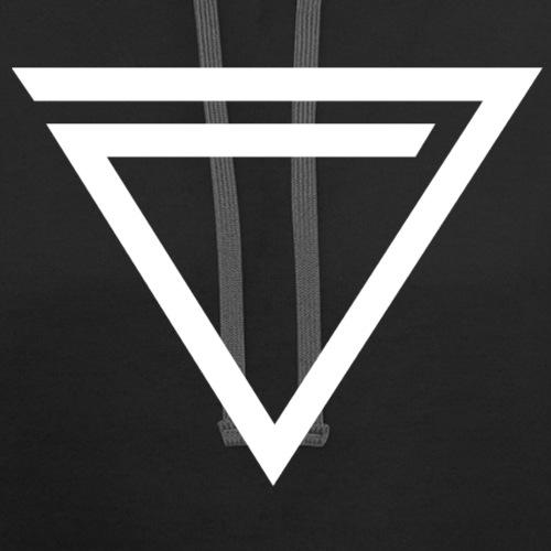 TRiNiTY eNation Logo White - Contrast Hoodie