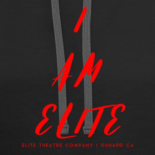 I am Elite - Contrast Hoodie