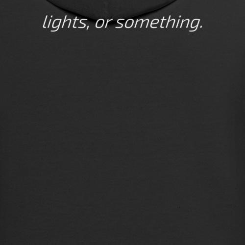 lights, or something - Unisex Contrast Hoodie