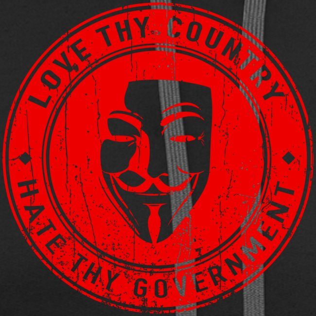 red love thy country