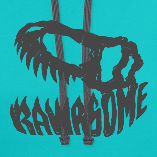 RAWRsome T Rex Skull by Beanie Draws