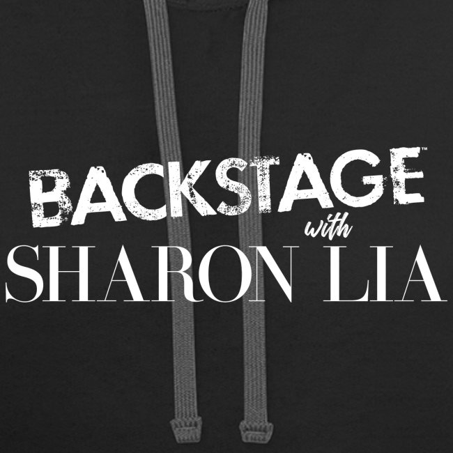 Backstage With Sharon Lia - White