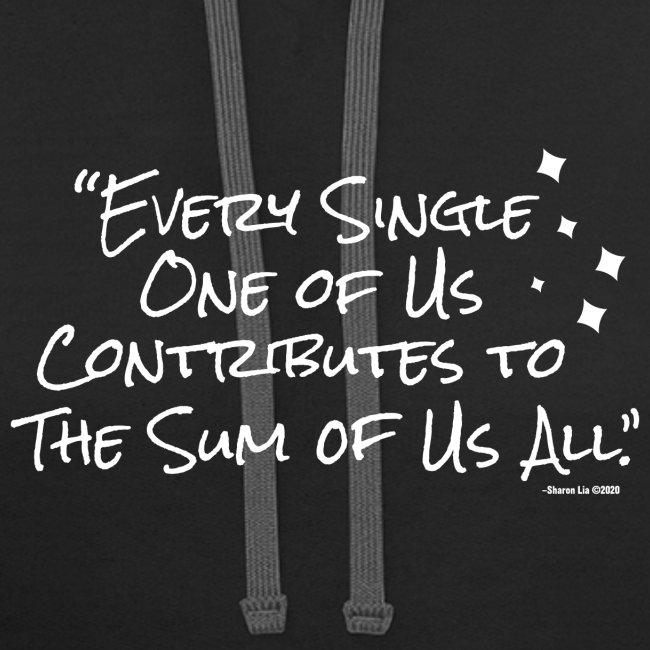 """The Sum of Us"" Lyric"