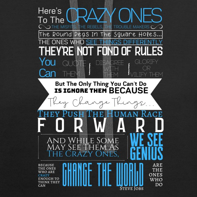 OCT 2019 - Steve Jobs   Here's To The Crazy Ones