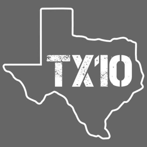 TEXAS 10 by FinksMethod - Unisex Contrast Hoodie
