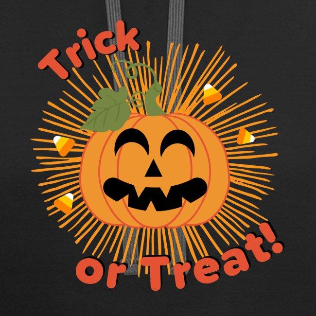 Halloween Trick Or Treat Jack-O-Lantern Pumpkin