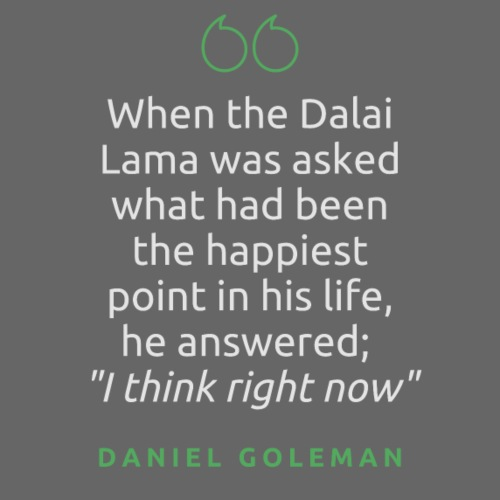T Shirt Quote When the Dalai Lama was asked - Contrast Hoodie