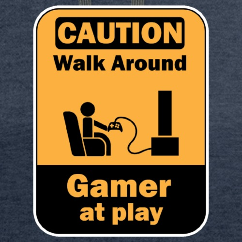 Caution: Gamer at play - Contrast Hoodie