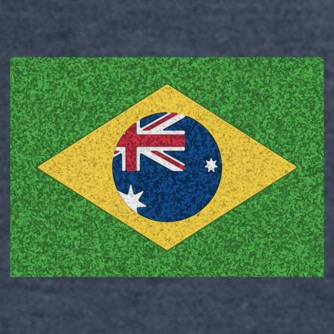 Brazil flag with Australia Twist
