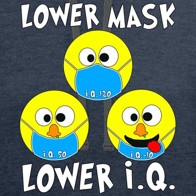 Lower Mask = Lower I.Q.