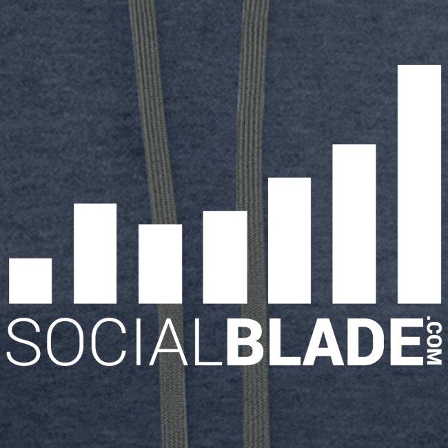 Social Blade - White
