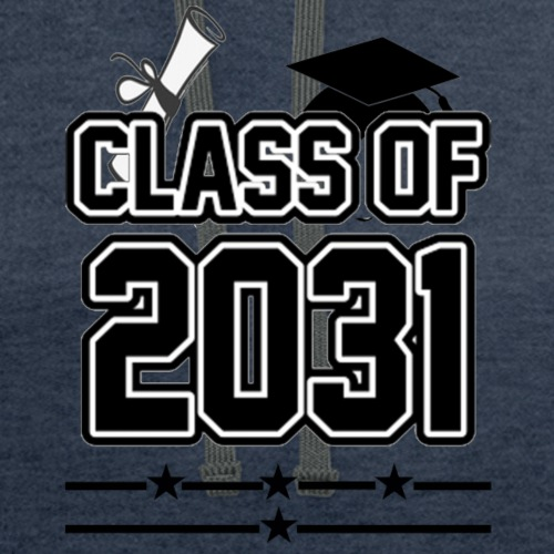 Class of 2031 Grow with me Shirt - Unisex Contrast Hoodie