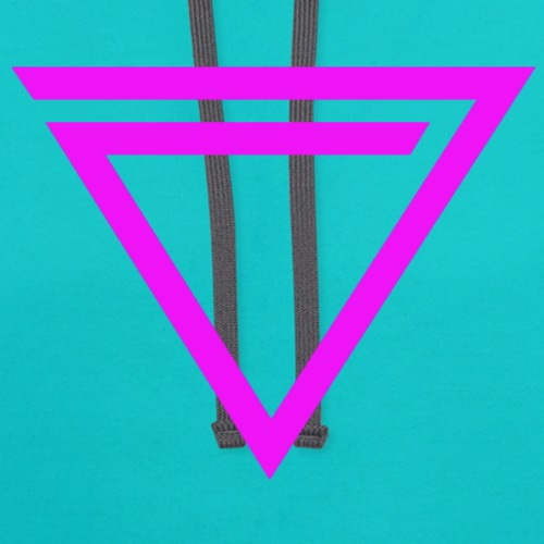 TRiNiTY eNation Logo Pink - Contrast Hoodie