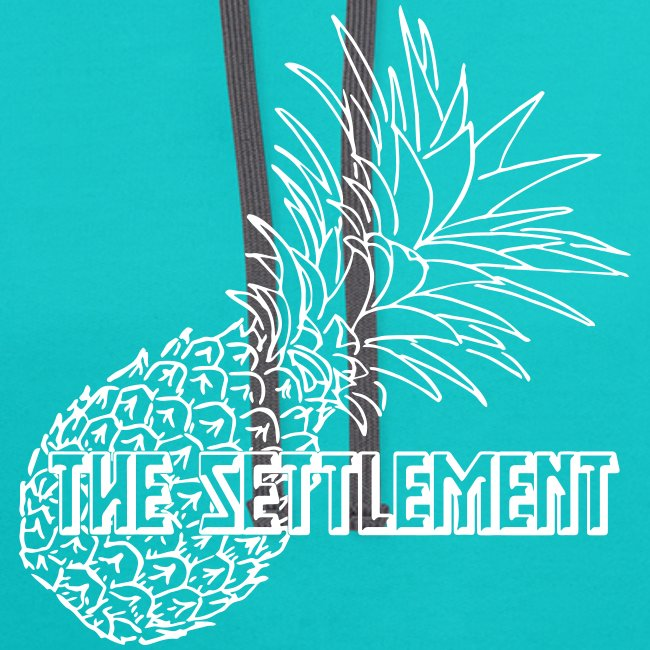 Pineapple with Band Name   The Settlement