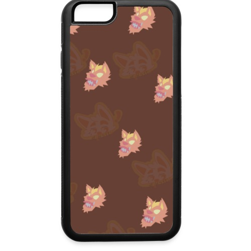 Dragon Mouth Mutt Pattern - iPhone 6/6s Rubber Case