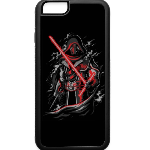 Star wars Darth Vader future assassin - iPhone 6/6s Rubber Case