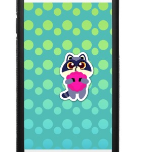 raccoon smile - iPhone 6/6s Rubber Case