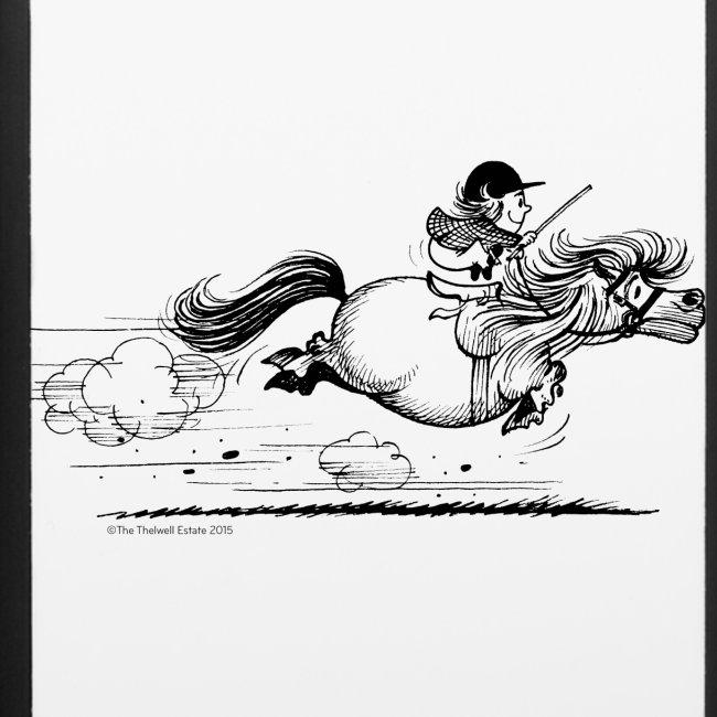 PonySprint Thelwell Cartoon