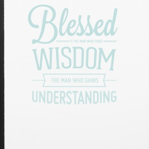 Blessed is the man who finds wisdom - iPhone 6/6s Rubber Case