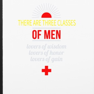 There are three classes of men lovers of wisdom - iPhone 6/6s Rubber Case