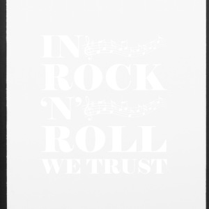 In Rock n Roll We (White) - iPhone 6/6s Rubber Case