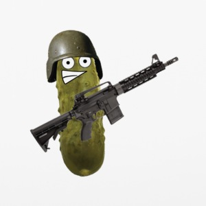 Combat Pickle - iPhone 6/6s Rubber Case