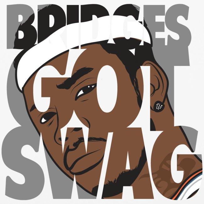 Men's Hoodie - #BridgesGotSwag