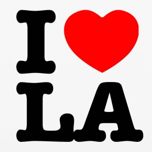 i love la Design - iPhone 6/6s Rubber Case