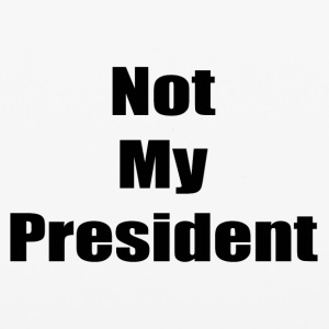 Not My President (black text) - iPhone 6/6s Rubber Case