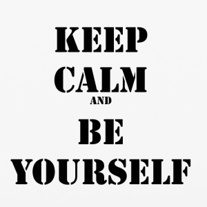 Keep calm and be yourself - iPhone 6/6s Rubber Case
