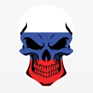 Russian Flag Skull - iPhone 6/6s Rubber Case