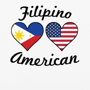 Filipino American Flag Hearts - iPhone 6/6s Rubber Case