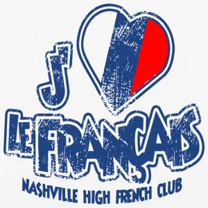 Nashville High French Club - iPhone 6/6s Rubber Case