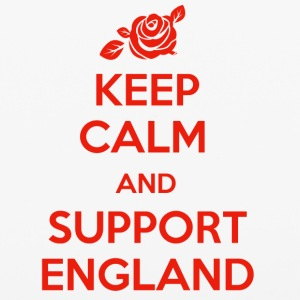 Keep Calm and support England - iPhone 6/6s Rubber Case