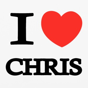 I Love Chris - iPhone 6/6s Rubber Case