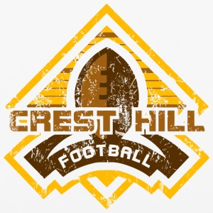 CREST HILL FOOTBALL - iPhone 6/6s Rubber Case