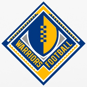 WARRIORS FOOTBALL - iPhone 6/6s Rubber Case