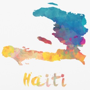 Haitian Watercolor Country - iPhone 6/6s Rubber Case
