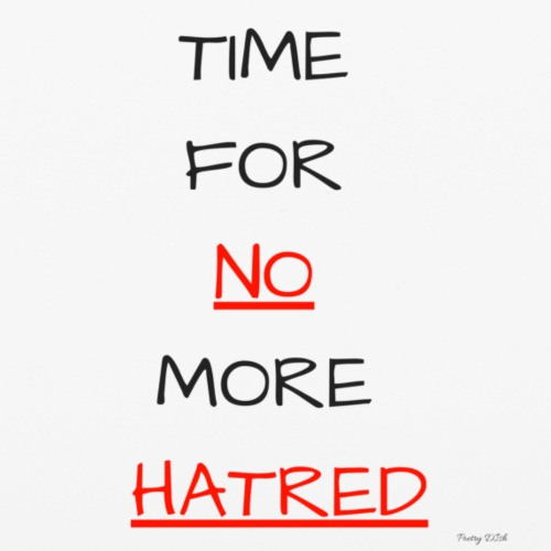 Cases | Time for No more Hatred - iPhone 6/6s Rubber Case