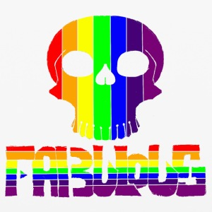 Fabulous Rainbow skull - iPhone 6/6s Rubber Case
