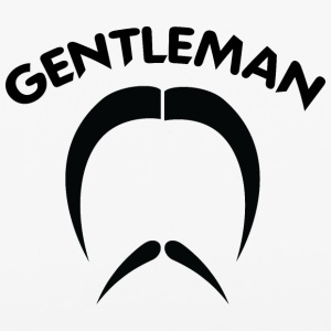 GENTLEMAN_2_black - iPhone 6/6s Rubber Case