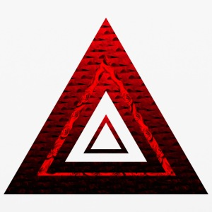 Red Ruby Rose Pyramid - iPhone 6/6s Rubber Case