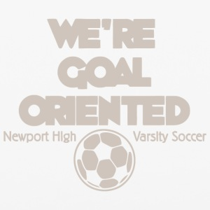We re Goal Oriented Newport High Varsity Soccer - iPhone 6/6s Rubber Case