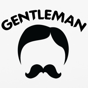 GENTLEMAN_3_black - iPhone 6/6s Rubber Case