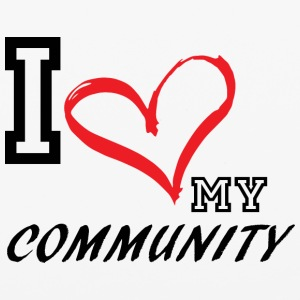 I_LOVE_MY_COMMUNITY - iPhone 6/6s Rubber Case